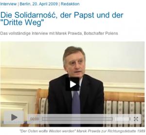 Marek Prawda, Botschssfter Polens